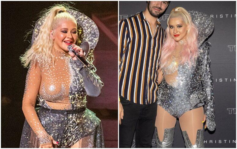 Christina Aguilera aumento peso