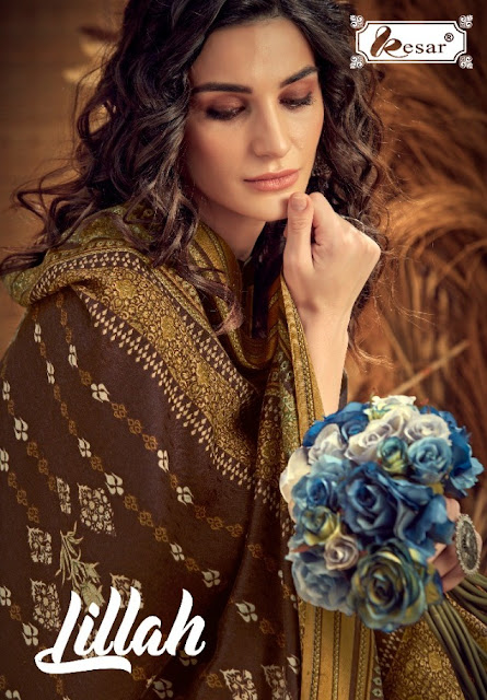 Kesar Lillah Winter Pashmina Collection