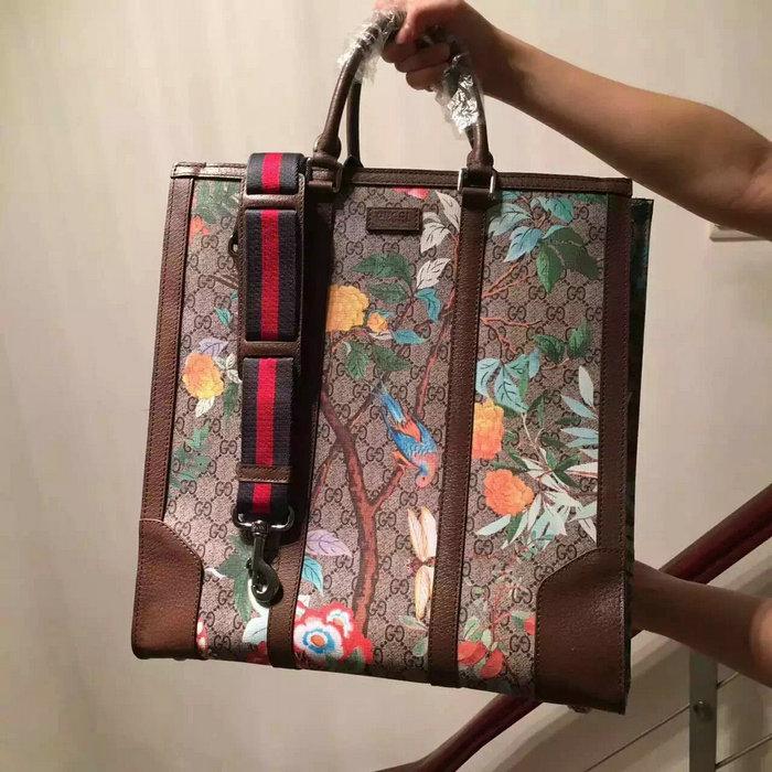 a684eb56121 Spot new gucci bags  Gucci Tian GG Supreme Tote Bag 406387