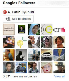 Cara Pasang Kotak Google+ Follower di Wordpress