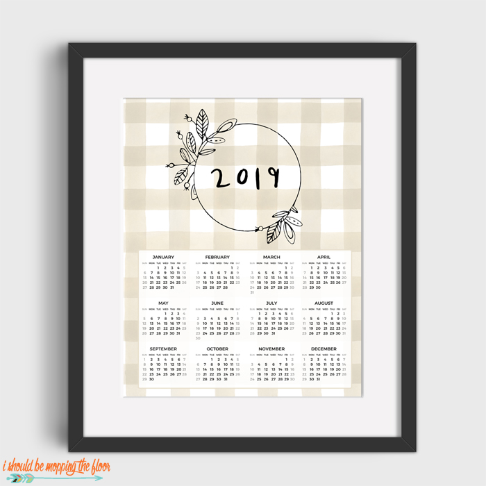 Calendar-At-A-Glance