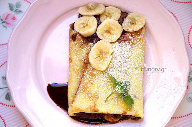 French Crepes Savory & Sweet-DIY