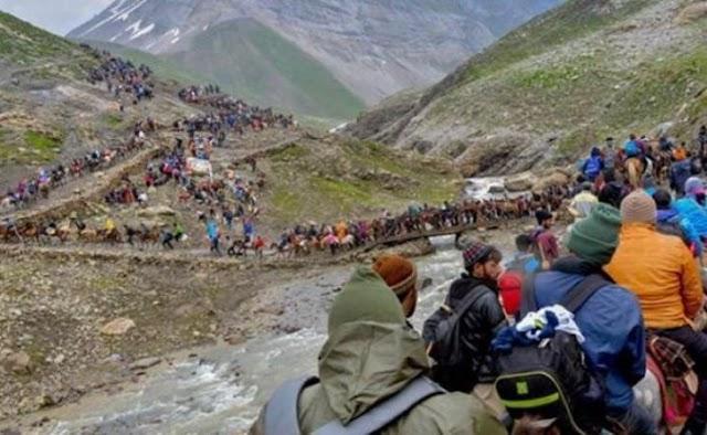 जम्मू-कश्मीर समाचार: अमरनाथ यात्रा के लिए सेना की हरी झंडी, 28 जून से शुरू हो सकती है यात्रा ।