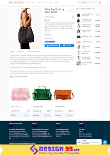 Template Blogspot Bán Hàng Việt Designer Shop VSM08 - Ảnh 2