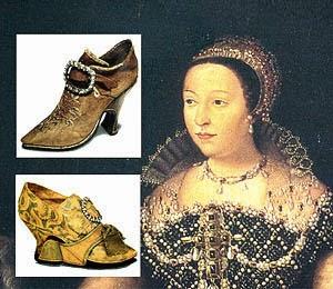 Koleksi sepatu Catherine de Médici