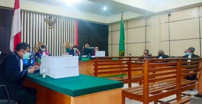 sidang suap pengesahan apbd jambi