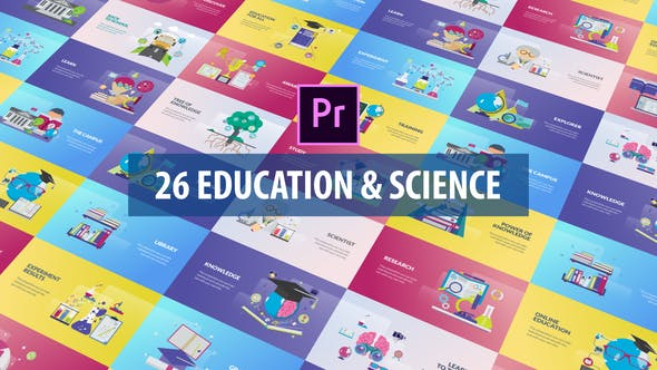 Videohive Education and Science Animation Premiere Pro