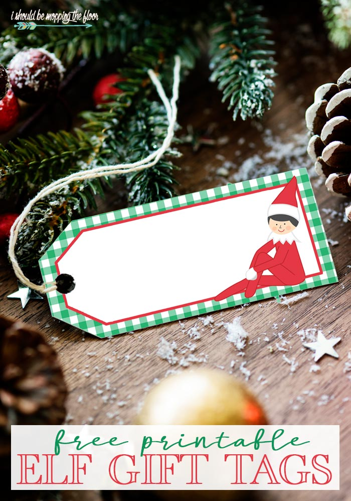Elf on the Shelf Gift Tags