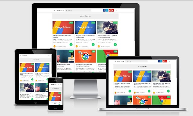 Masign Grid Template Blogspot gần giống với bản Premium (Free)
