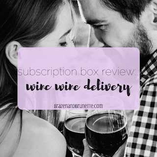 Winc wine subscription review. How I get 4 bottles of wine delivered each month. Why Winc wine Wednesdays are the perfect broke date night | brazenandbrunette.com