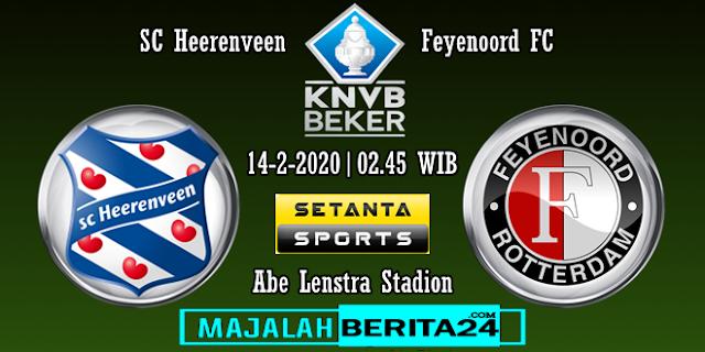Prediksi SC Heerenveen vs Feyenoord