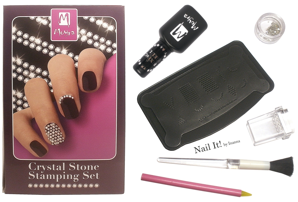 "Moyra ""Crystal Stone Stamping"" set - Review & Tutorial"