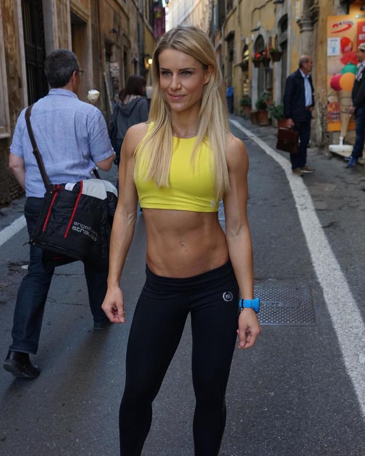 German Fitness Model Adrienne Koleszar