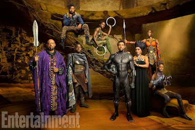 The Wakandan Royal Family