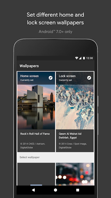 Wallpapers by google- geekyswap