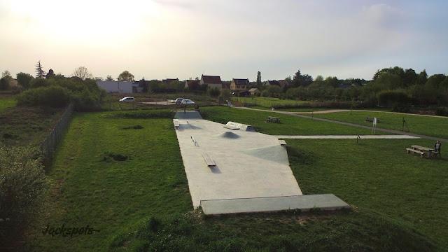 Skate park Bruyères