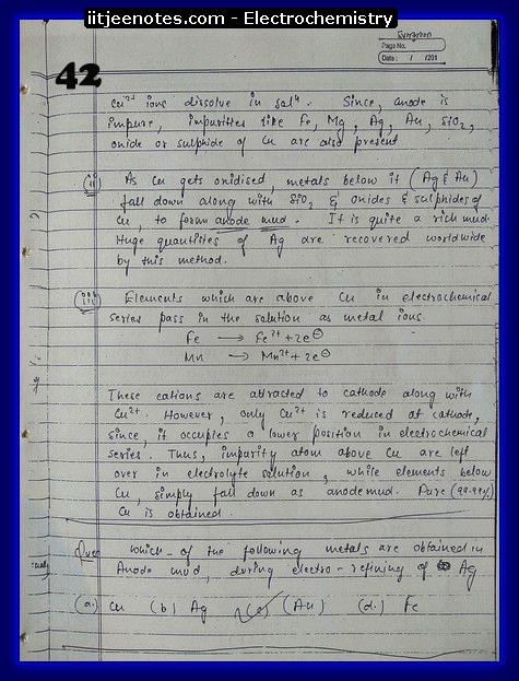 Electrochemistry Notes IITJEE12