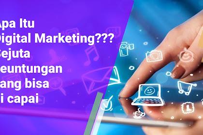 Digital Marketing Kian Maju di Era 2020 dan apa saja keuntungan Yang bisa Anda Dapatkan...