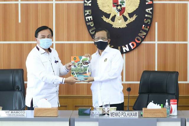 Mahfud MD Nilai Tim Gabungan Pencari Fakta (TGPF) Kasus Intan Jaya Berhasil Selesaikan Tugas.lelemuku.com.jpg