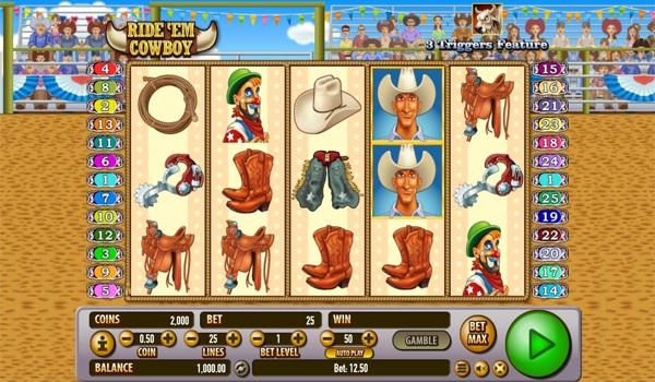 Main Gratis Slot Indonesia - Ride 'Em Cowboy Habanero