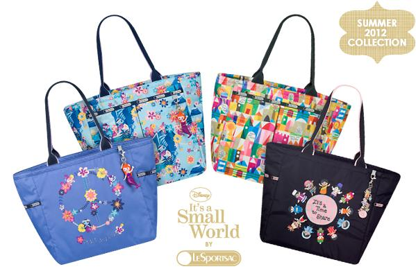 ebc285ce61a It s A Small World by LeSportsac. Disney has teamed up with the handbag  company LeSportsac to bring us a new and fabulous line of designer Disney  bags.