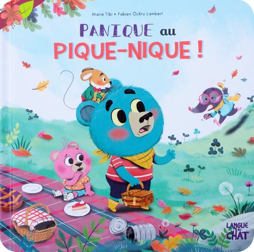 Panique au pique-nique de Marie Tibi et Fabien Ockto Lambert - Langue au chat
