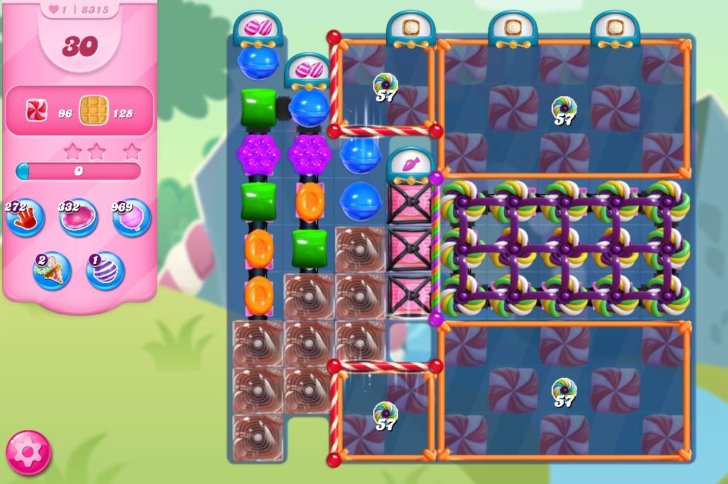 Candy Crush Saga level 8315