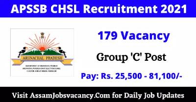 APSSB CHSL Recruitment 2021