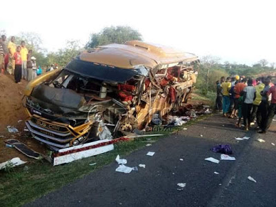 Photos: 27 people killed, several injured in horrific accident on Mombasa-Nairobi highway