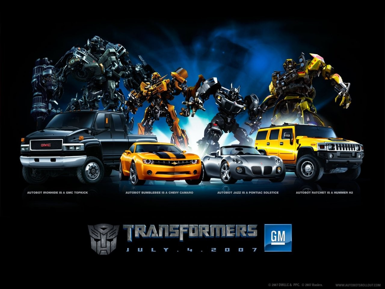 Cool HD Nature Desktop Wallpapers: Transformers Wallpapers
