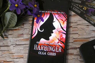 """Special Edition! Special Edition! The Cover of Olga Gibbs' """"Harbinger"""" Is Here"""