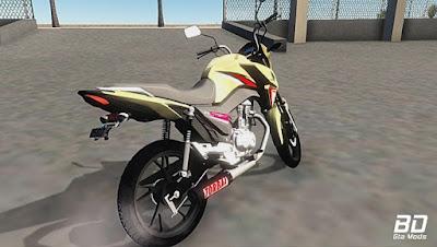 Download mod moto , Honda Cg160Titan TorbalRacing para GTA San Andreas, GTA SA , Jogo PC