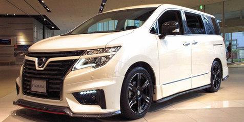 Desain Fenomenal MPV Nissan Elgrand Nismo!