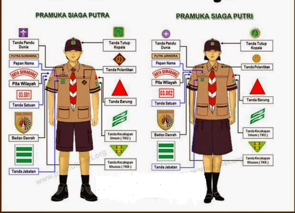 Topi Pramuka Siaga Putra godean.web.id
