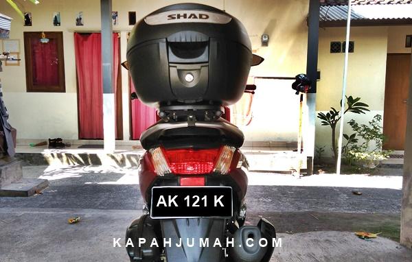 Pasang Top Box SHAD pada Yamaha NMax