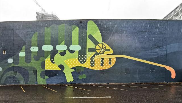 Wollongong Street Art by Amok Island
