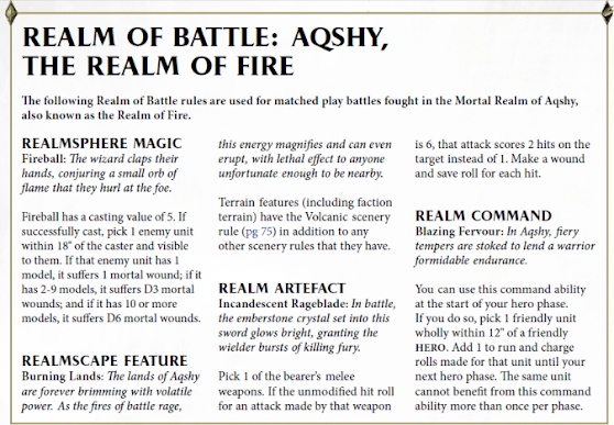 Reinos de Batalla: Aqshy