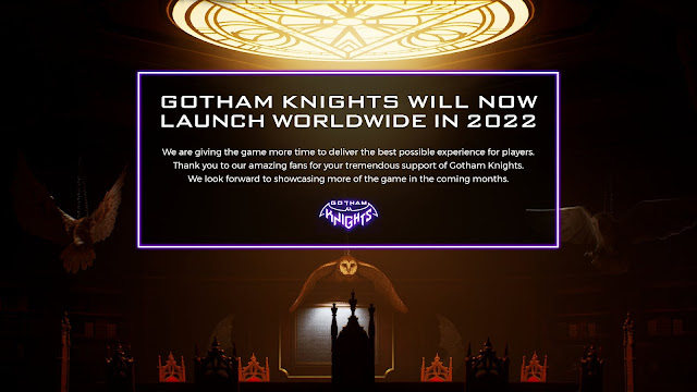 Gotham Knights will now launch in 2022 - Official report by WB Games | TechNeg