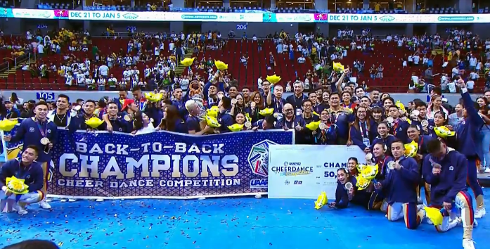 NU Pep Squad claims 6th title, back-to-back championship in 2019 UAAP CDC
