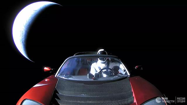 carro espacial musk