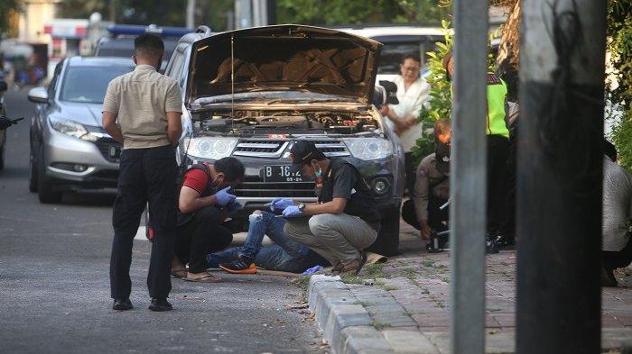 Polisi Olah TKP Ledakan Diduga Bom Rakitan di Menteng