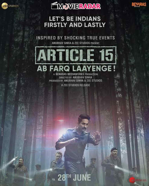 BOX OFFICE: Ayushman Khurana's 'Article 15' - Glorious First Weekend,Know Collection