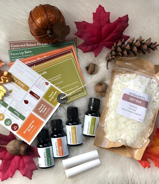 simply earth october essential oils box review