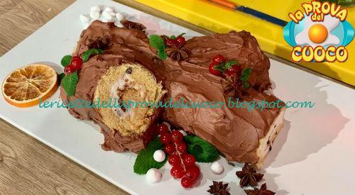 Tronchetto Di Natale Con Pandoro.Tronchetto Di Pandoro Ricetta Natalia Cattelani E Luisanna Messeri Da Prova Del Cuoco