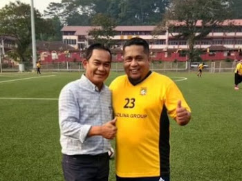 Perlawanan Persahabatan Bola Sepak PBPBNS dengan BH Massa