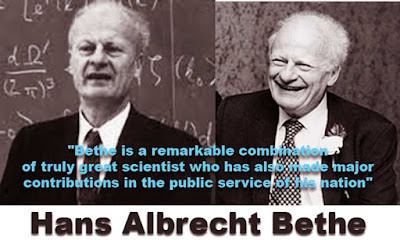 A brief biography of Hans Albrecht Bethe the Doctor Honoris Causa