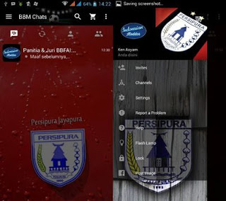 BBM Mod Persipura