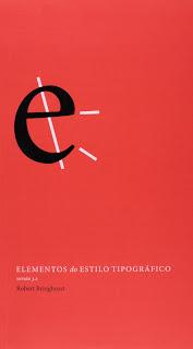 Capa do livro Elementos do estilo tipográfico