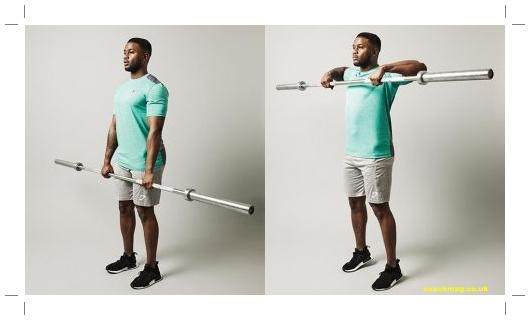 cara membentuk otot bahu belakang dengan cepat