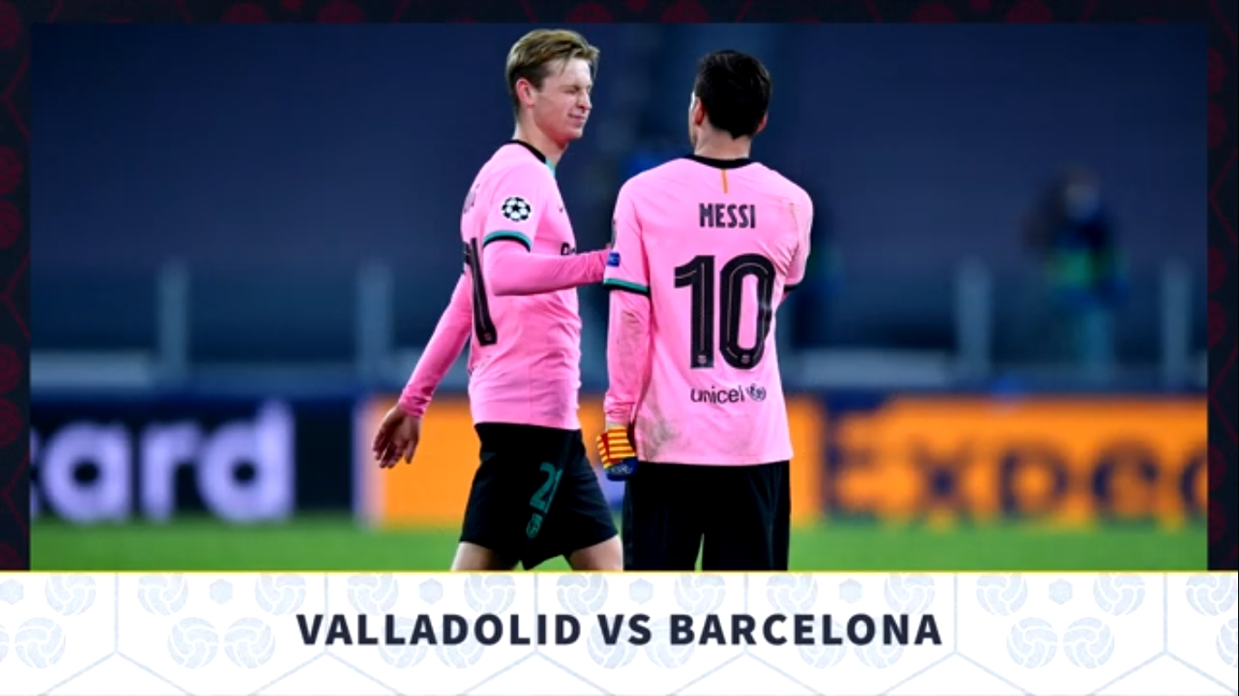 FC Barcelona Versus Valladolid Preview: Team News And Line Up